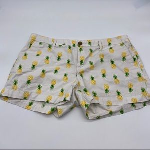 Old Navy Pineapple Shorts Size 10